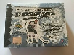 1994 Upper Deck Ud Hockey Be A Player Signature Collection Unopened 12 Pack Box
