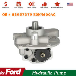 Hydraulic Pump Fit Ford Tractor 7610 6600 7410 5600 5610 6610 For 83957379