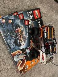 Lego Technic 9398 4x4 Crawler, Retired 100 Complete W/box And Instructions Rare