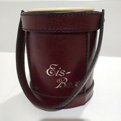Leather Champagne Ice Bucket small EIS Box $7.00