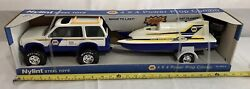 Vintage 1994 Nylint Napa 4x4 Ford Explorer Power Prop Boat Trailer New In Box