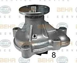 Behr Water Pump For Opel Vauxhall Chevrolet Astra H Gtc J Saloon 8mp376810284