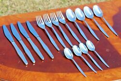 Christofle Orly Silver Plated 16 Pieces Flatware Set For Four