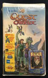 B8 Quest For Camelot Vhs Clamshell New Sealed Rare Cornwall And Devon Pendant