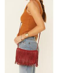 Hobo Women#x27;s Wilder Fringe Crossbody Bag SO 82332 $191.76