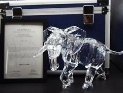 Elephant Crystal Glass Scs Member Limited Work 2006 [brand-new]