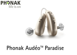 Phonak Audeo Paradise P-r 90/70/50/30 Hearing Aids + Free Mini Charger