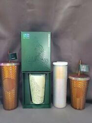 Starbucks 50th Anniversary Limited Edition Combo Pack Of 4 Ships Today