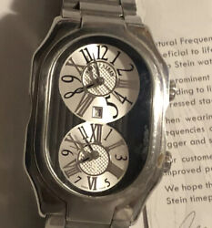 Phillip Stein Prestige Watch Stainless Steel Water Resistant Fathers Day Gift
