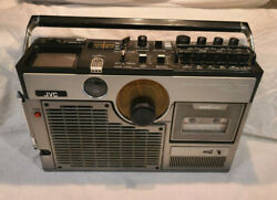 Vintage Jvc 3060 Am Fm Tv Variable Sound Monitor Boombox - Tv Tape And Radio Work