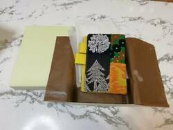 Hobonichi Techo Mina Perhonen Planner Cover piece Yellow Original w Box F S $208.99
