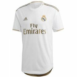 Adidas Real Madrid Official Home Authentic Soccer Jersey 2020/21