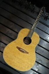 ovation Usa 1132-1 Natural Acoustic Guitar Shipped From Japan
