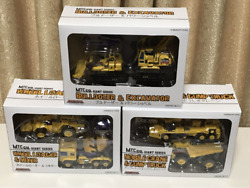 Make Toys Mtc Co. Giant Series Lot Of 3 Set Mini Toy Car With Box Japan Shipped