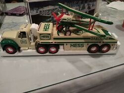 Hess Toy Truck And Airplane 2002 Brand New In Box