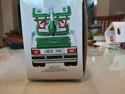 2002 Hess Toy Truck And Airplane