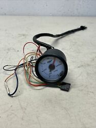 Glow Shift White 7 Color 30 Psi Boost/vacuum Gauge Gs-c701 Glowshift Boost