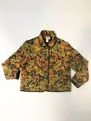 Coldwater Creek Tapestry Jacket Sz PM