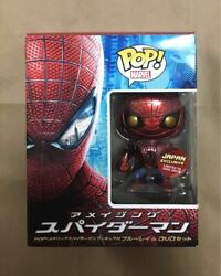 pop Marvel Japan Exclusive Limited To 1000 Units The Amzing Spider Man Figure