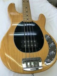 Ernie Ball Musicman Sting Ray 4 String Electric Bass Guitar With Hard Case