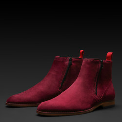 Tayno I The Coupe Chelsea Boot I Wine