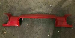 1970-73 Chevy Camaro Front Bumper Upper Original Red Paint Man Cave Very Rare
