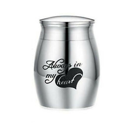 2Pcs Small Urn Mini for Ashes Cremation Memorial Keepsake Ash Containerl Jar $9.09
