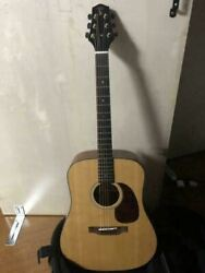 Voyage-air 6 Strings Travel Folding Acoustic Guitar With Pack Bag Japan Shipped