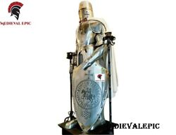 Medieval Knight Suit Medieval Full Steel Templar Knight Suit Of Armour Wearable
