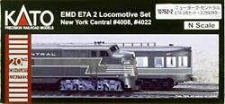 N Gauge New York Central E7a 20th Century Limited Express 10762-2 Model Train