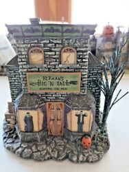 2005 Hawthorn Village Munsters Herman's Big And Tall Clothing For Men W/coa Wow