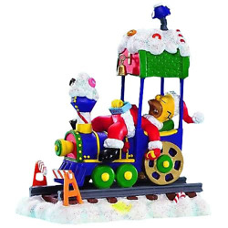 The Simpsons Christmas Train Express Collection Asleep At The Wheel Sealed