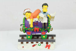 Simpsons Christmas Express Train Collection - A Christmas At Moe's - Sealed
