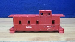 Lionel O Red 6257 Caboose Shell 598705