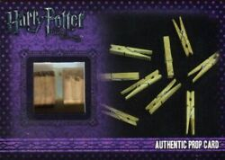 Harry Potter Deathly Hallows 1 Tent Clothes Pegs Prop Card Hp P12 022/110