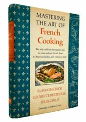 Mastering The Art Of French Cooking By Julia Child, 1st Edition, Signed