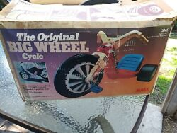 Unused Complete In Box. The Original Big Wheel Cycle. Model 5045 By Marx Toys.