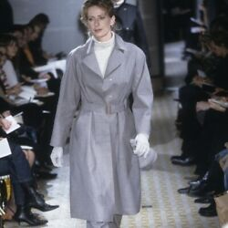 Hermes By Martin Margiela Aw2001 Rare Trench Coat By Mackintosh Belted Vintage