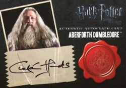 Harry Potter Deathly Hallows 2 Ciarin Hinds Dealer Incentive Autograph Card
