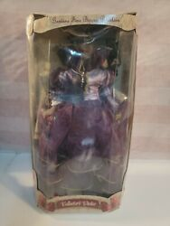 Collectors Choice 17 Htf African American Porcelain Doll/ W Certificate
