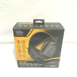 Gioteck Ex-os Military Style Wired Stereo Headset For Pc Mac Xbox 360 Ps3