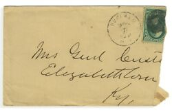 George Armstrong Custer - Envelope Addressed And Signed - Killed At Little Bighorn