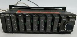 Vintage '80s Audiovox Avx Amp-785 Car Stereo Graphic Equalizer Amplifier- Parts