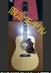 epiphone Hummingbird 6 Strings Acoustic Guitar Limited Edition Japan Shipped