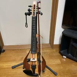 yamaha Yev105 Electric Violin 5 Strings Musical Instrument Shipped From Japan