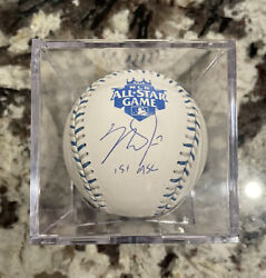 Mike Trout 2012 All Star Game Baseball Autographed Signed Mlb Authentic 1st Asg