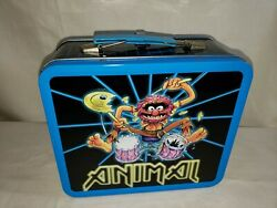 Muppets - Animal - Iron Maiden Logo Style Lunch Box - 2008 Loungefly