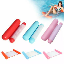 Inflatable Swimming Float Water Hammock Floating Pool Summer Lounge Beach Bed