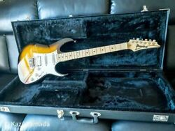 Ibanez At100-cl Sunburst Electric Guitar Shipped From Japan