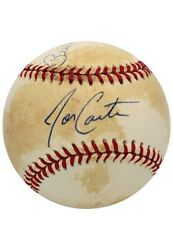 Joe Carter And Bill Mazeroski Only Players W Walkoff Hrs To Win Ws Signed Baseball